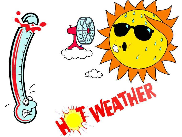 Summer Heat Reminders Weather Quotes Funny Weather Hot Weather Humor