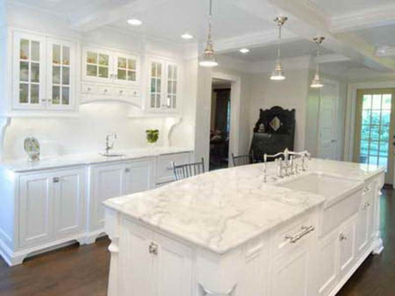 Best All White Marble Countertops Kitchen White Marble 400 x 300