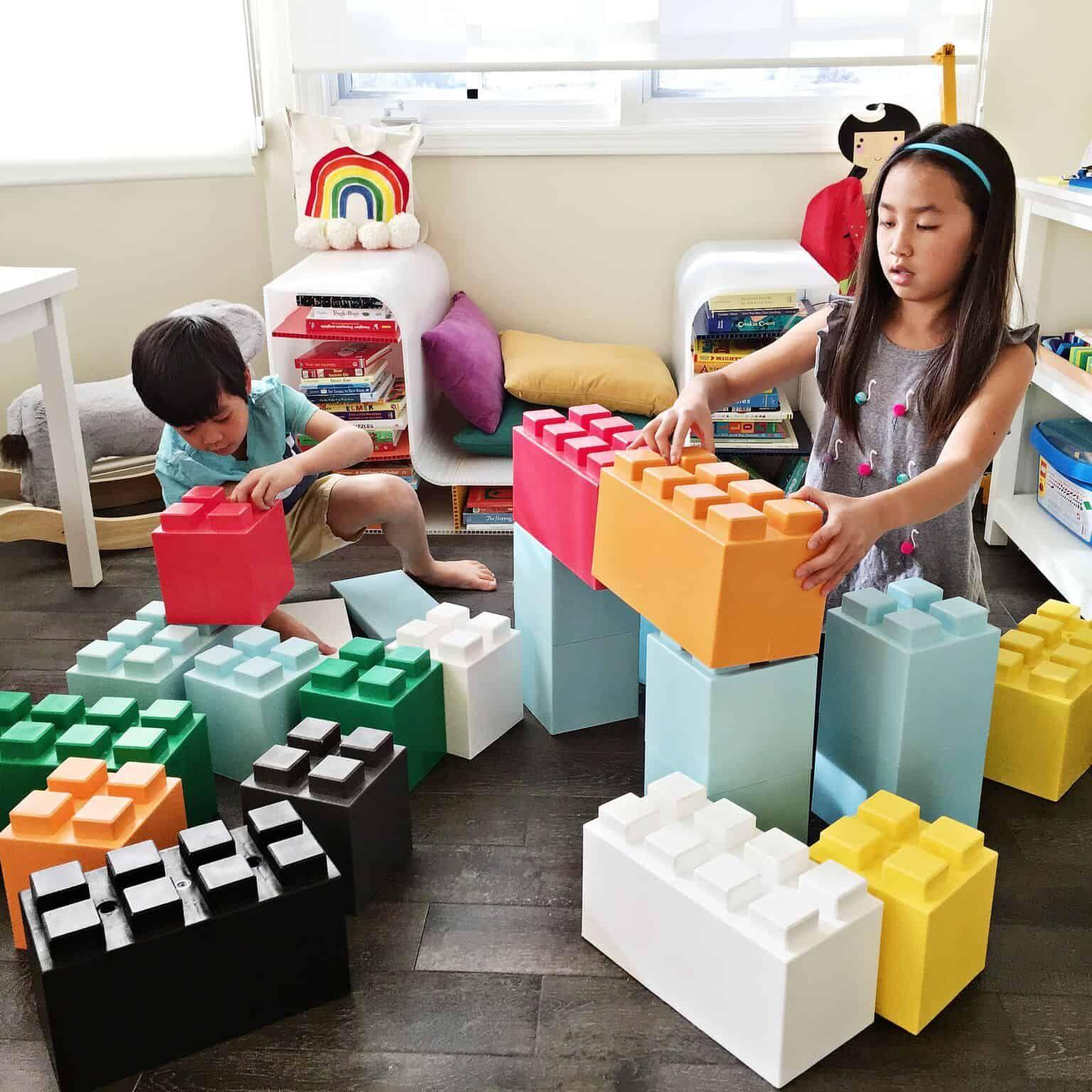 GIANT LEGO LIKE BUILDING BLOCK TOYS FOR KIDS | diy | Kids blocks