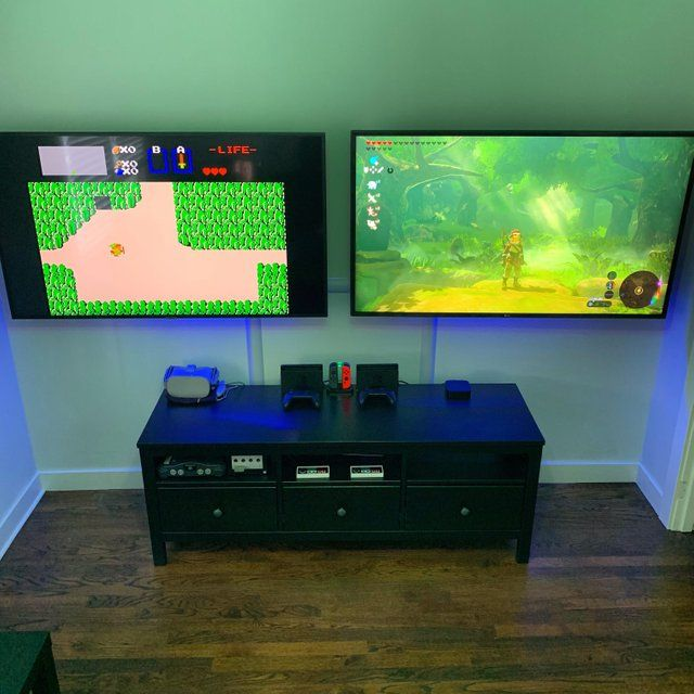 Reddit - gaming - Finished my 'his and hers' gaming setup