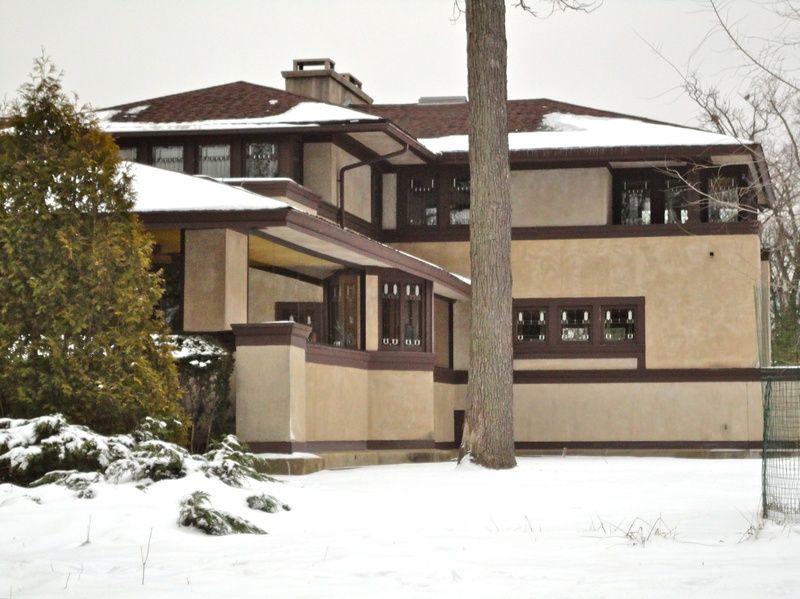 Frank Lloyd Wright Prairie Style ward w. willits house 1901. highland park, illinois. prairie style
