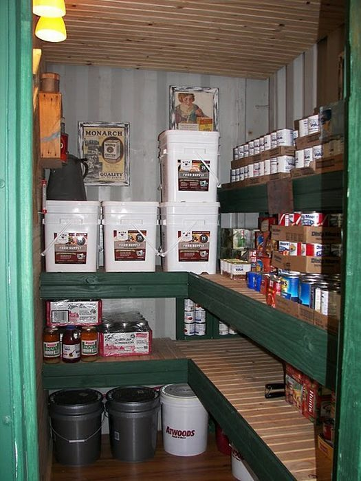 Pantry From Shipping Container House Storage Container