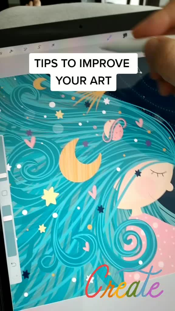 Tips To Improve Your Art Tik Tik Video Tik Video Art Improve Yourself