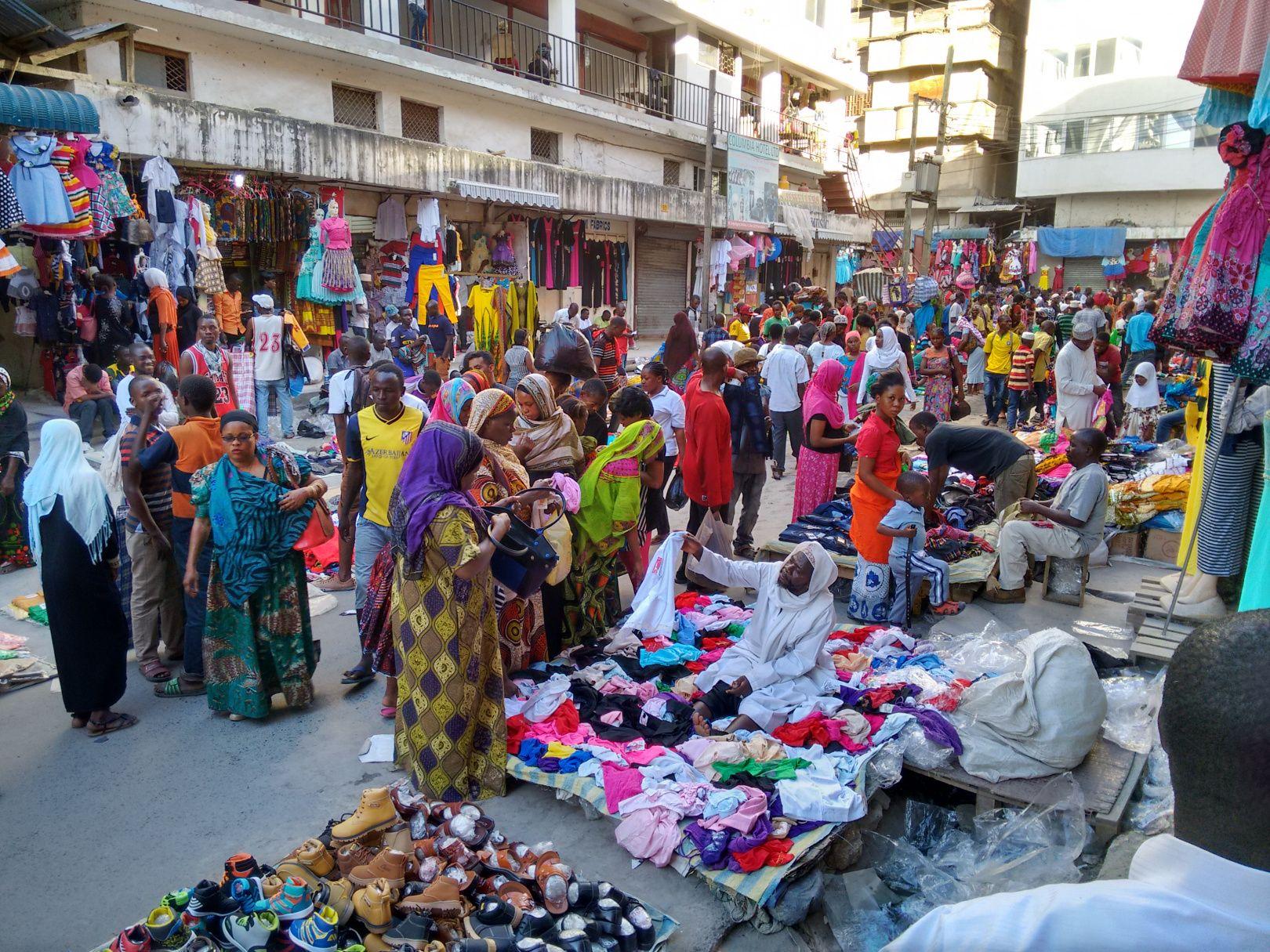 Kariakoo Market Dar Es Salaam Dar Es Salaam East Africa Tanzania
