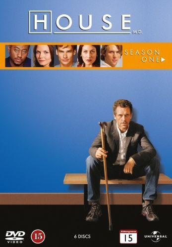 House M D Saeson 1 6 Disc Film Saesoner Og House