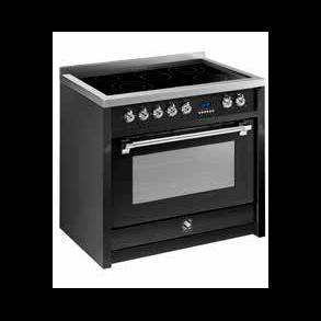 Steel Cucine Derby Induksjon komfyr 90 cm | Kjøleskap,ovner ...