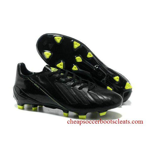 2014 Brazil World Cup Adidas Copa Mundial FG adidas adizero Metallic TRX FG  Leather Black Fluorescent Yellow Football Boots