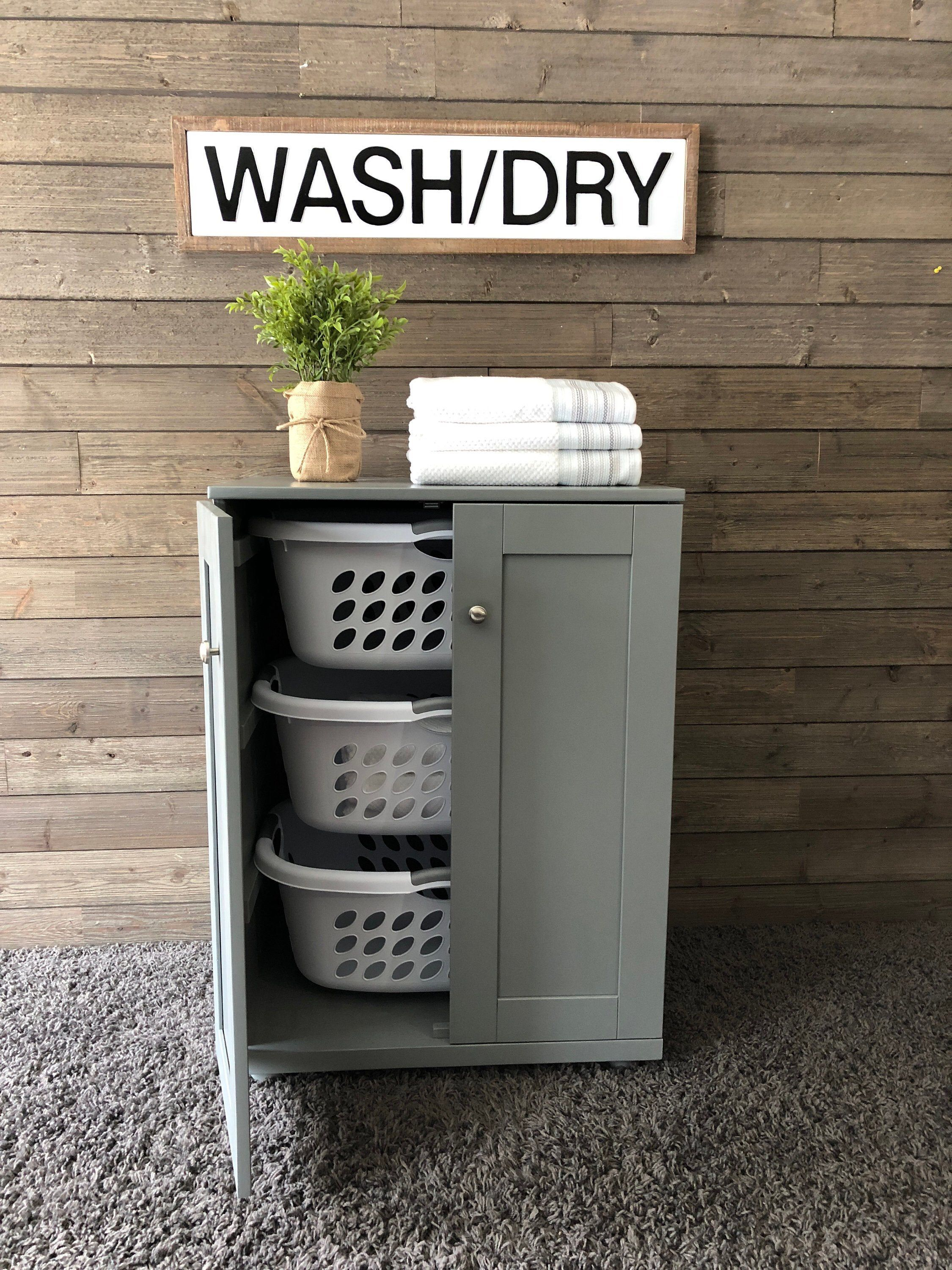 Free Shipping Stand Up Laundry Hamper Laundry Sorter Laundry