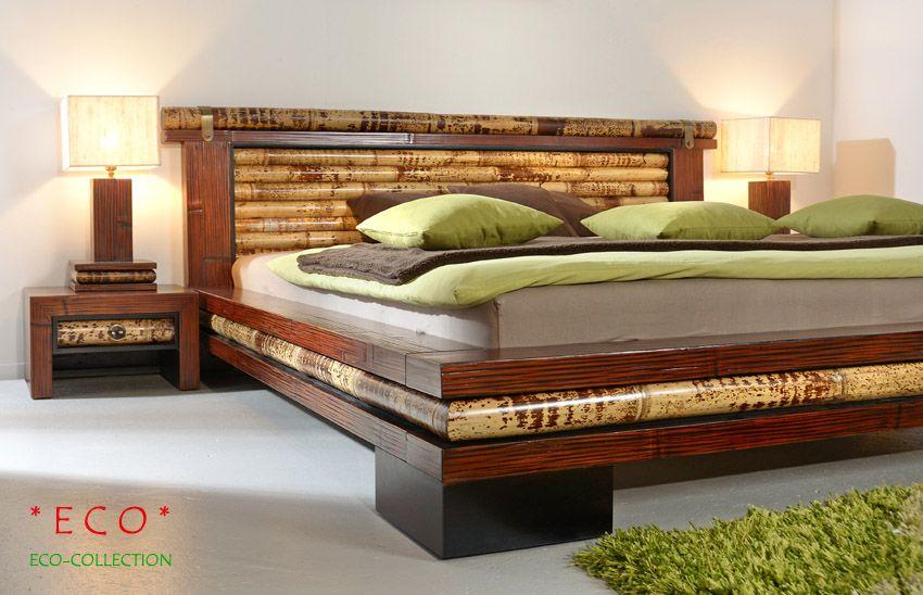 Schlafzimmer Bambus ~ Luxus bambusbett eco bambusmöbel für dein schlafzimmer pinterest