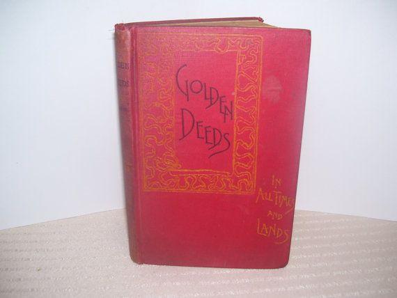 Golden Deeds in All times and Lands by stevedodder on Etsy, $65.99