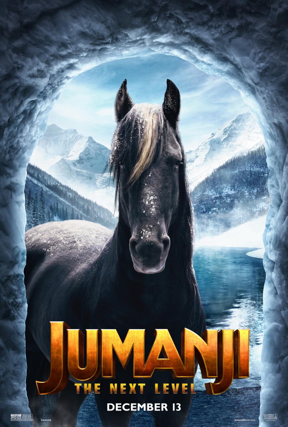 Jumanji The Next Level Bethany Poster Film Completi Dwayne Johnson