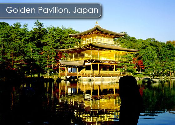 Golden Pavilion Is One Of The Main Buildings Of A Buddhist