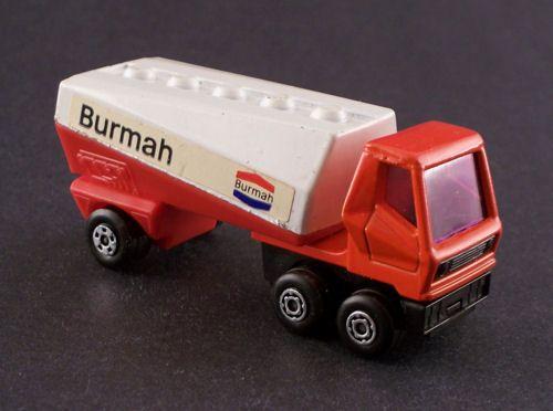 1973 Matchbox (Lesney) Superfast Freeway Gas Tanker - Burmah