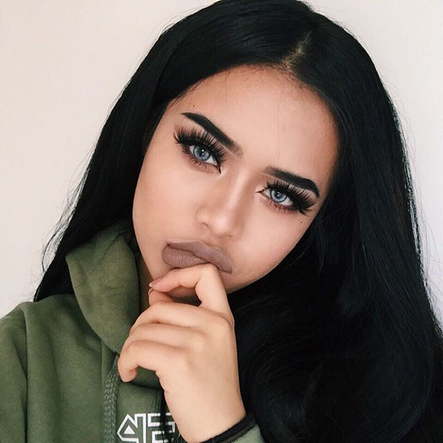 6796b2b9b3a Contains adult content Instagram Girls, Eyelashes, Eyebrows, Eye Makeup,  Eyes, Cute