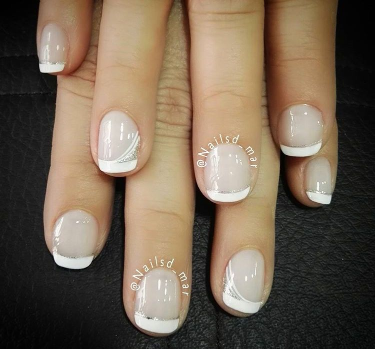 Pin by Anastasia BeYouTeaFull on Acrylic French manicure nails ideas ...