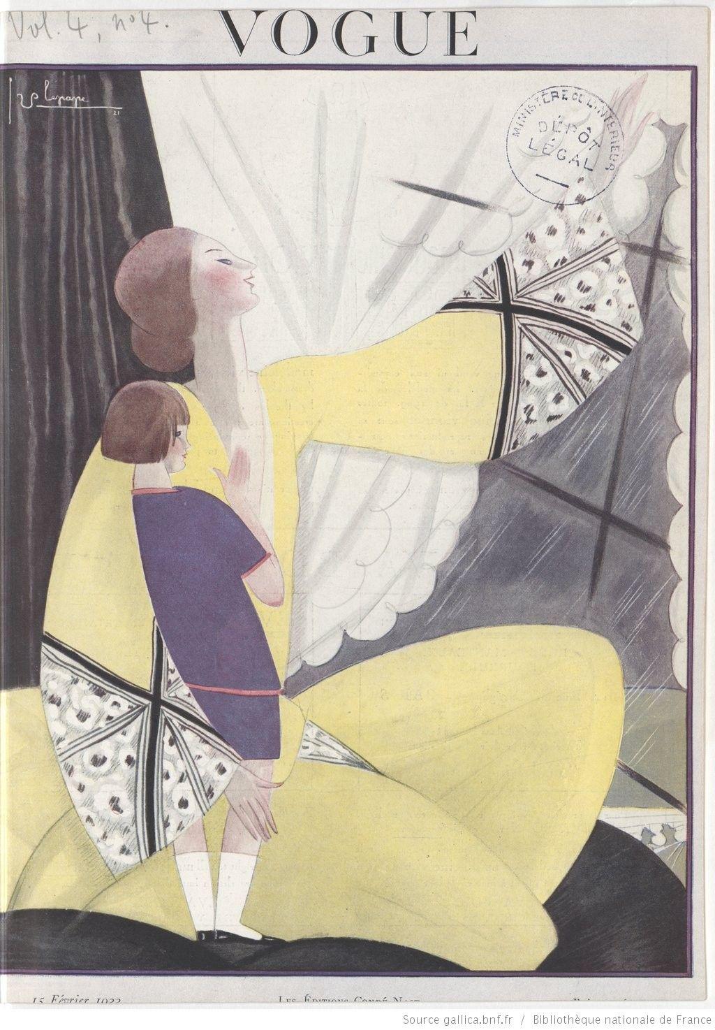 * Vogue (Paris) 15 FÉVRIER 1922 - Georges Lepape