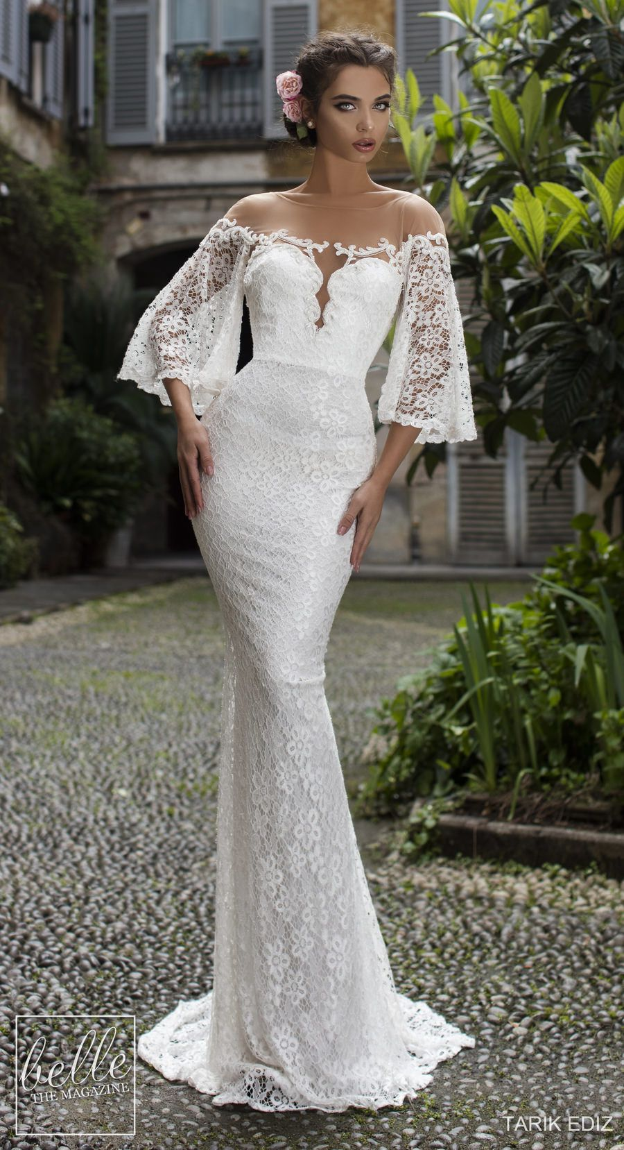Wedding Dresses 2019 - The White Bridal Collection. Lace romantic mermaid  of the shoulder sweetheart 93c6c74f5e