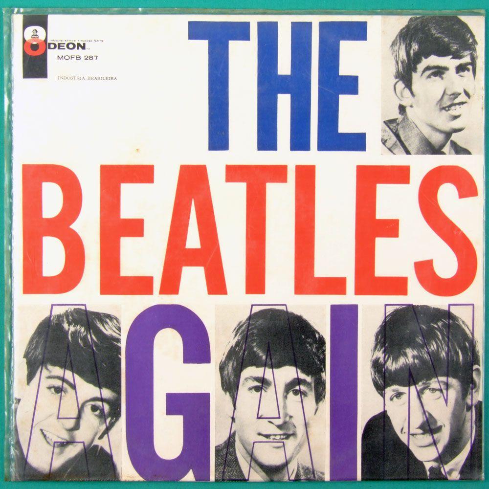 Rare Beatles album cover.