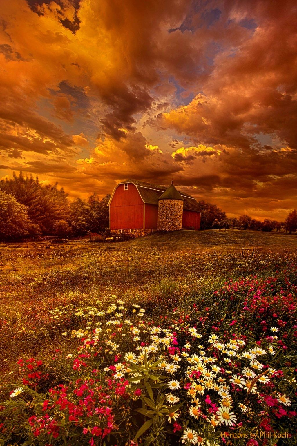 In A Heartbeat Wisconsin Horizons By Phil Koch H