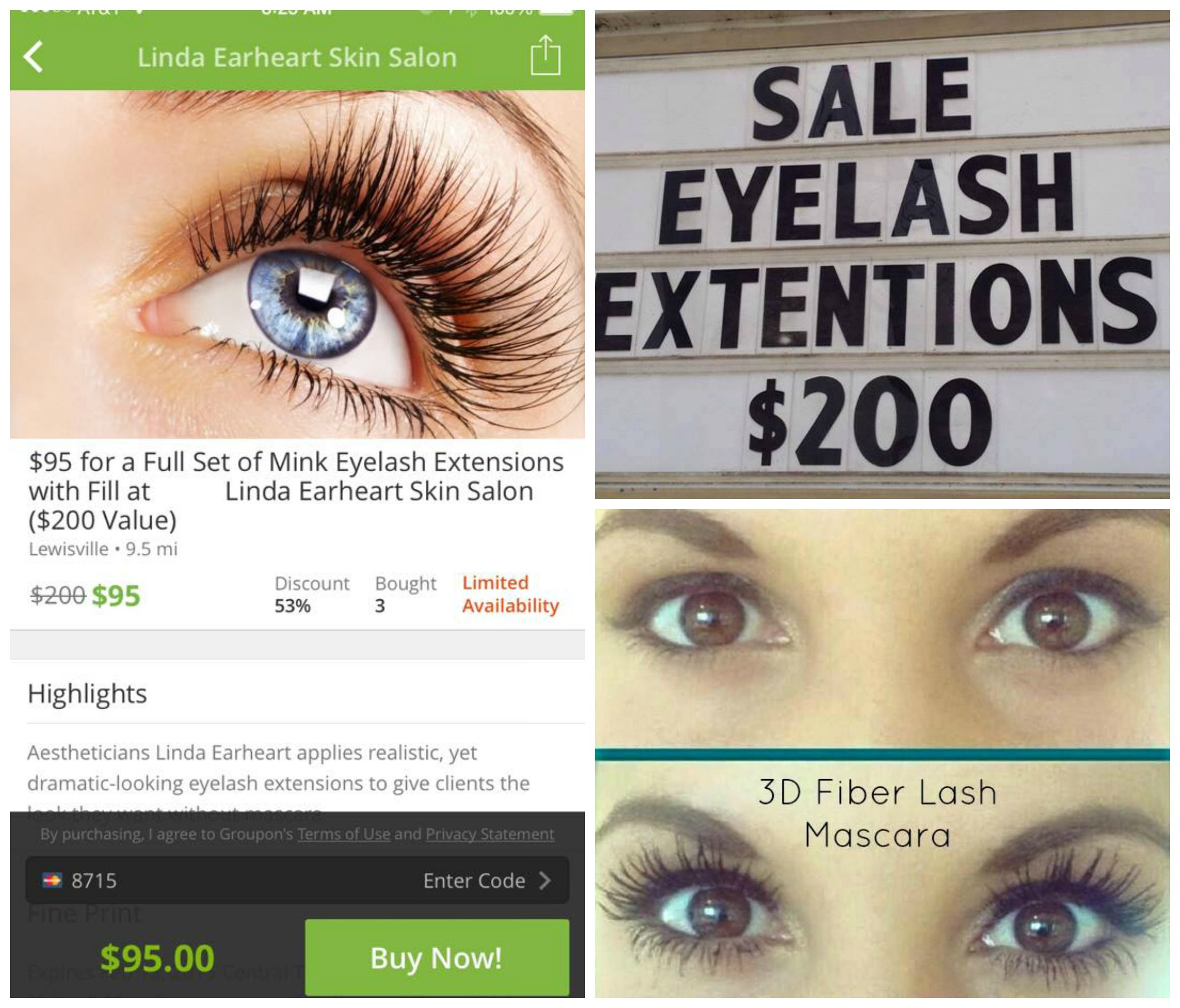 Lash Extensions Sale 200 Requires Refillupkeep Every Three