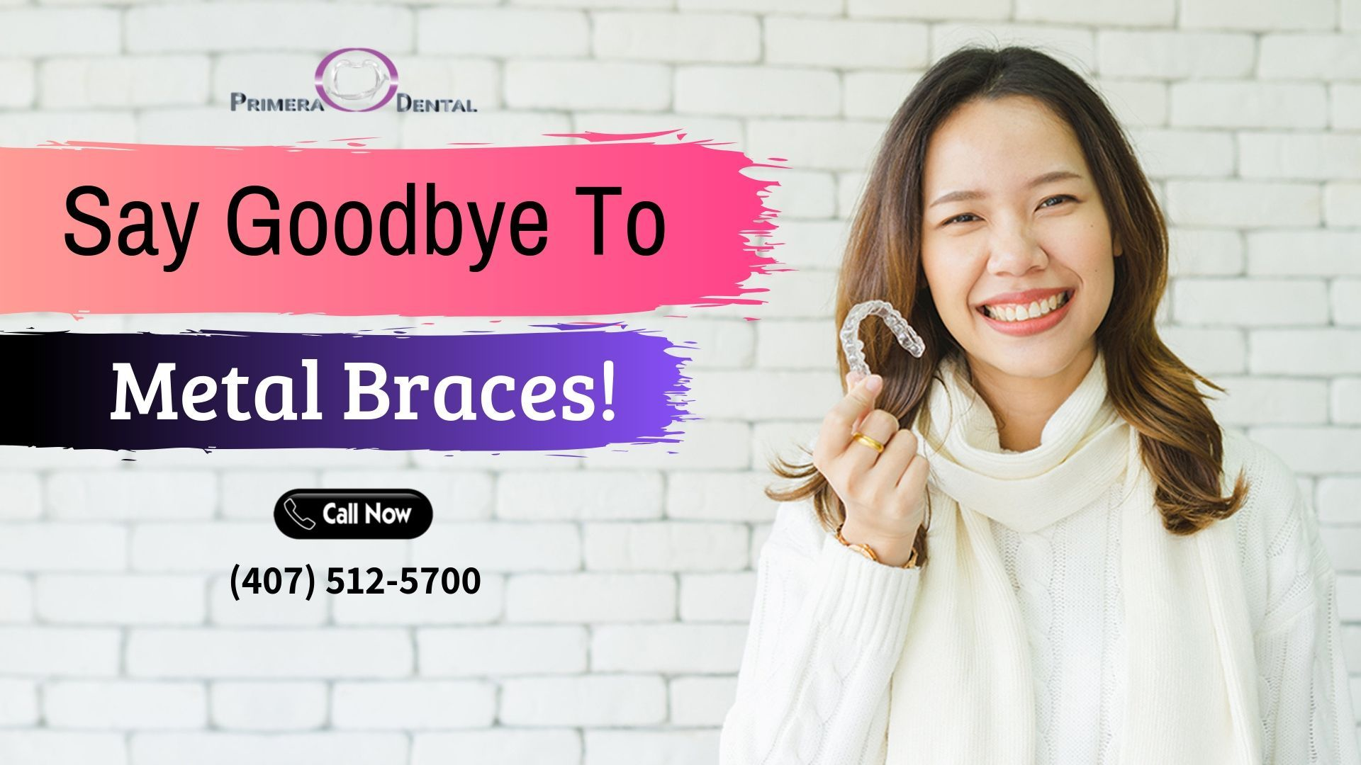 Want to straighten your teeth without braces? At Primera