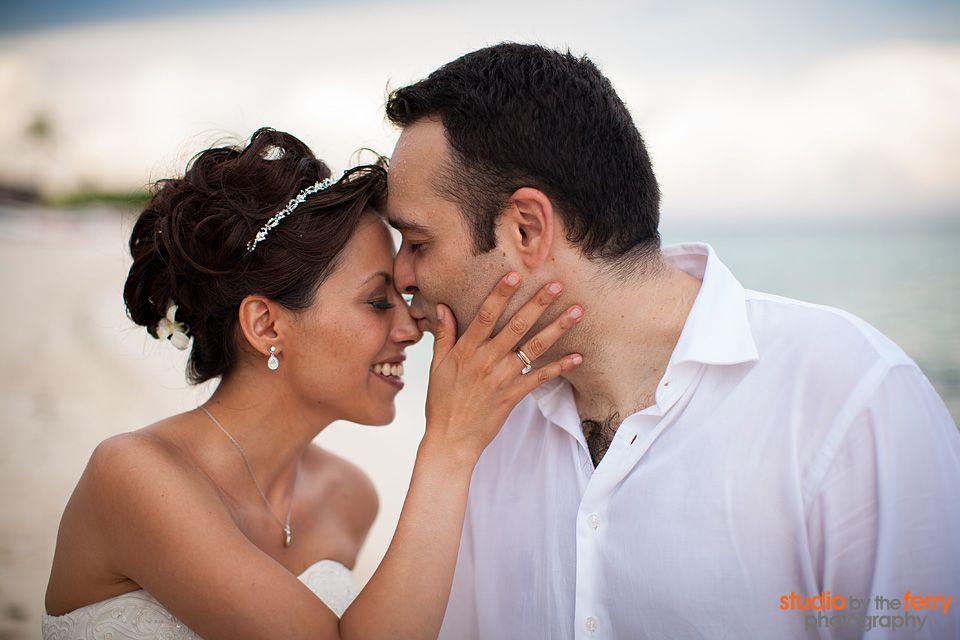 #wedding on the #RivieraMaya beach with the #pretty Daniela and her husband
