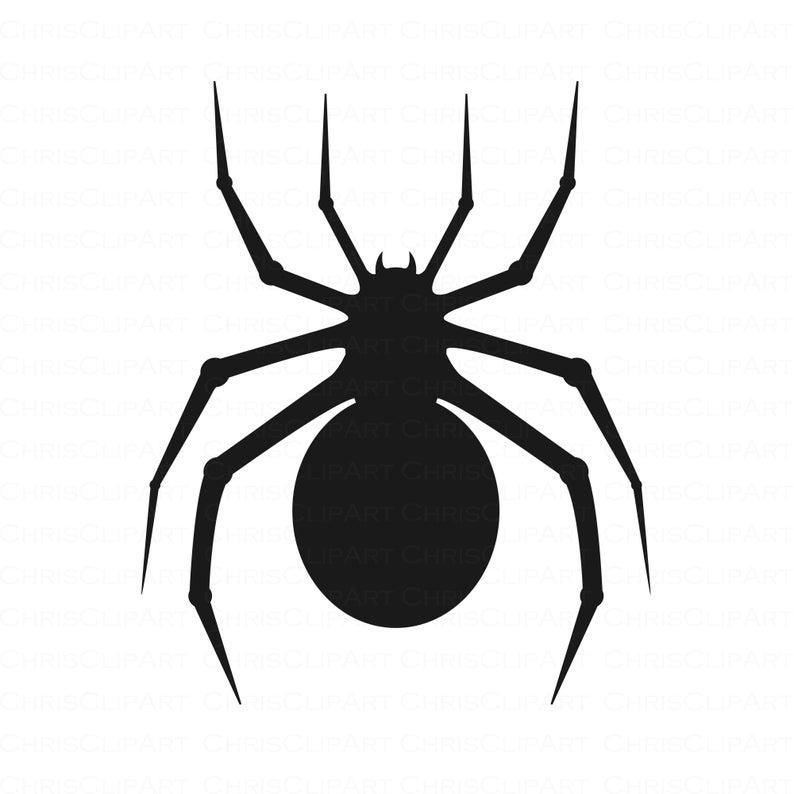 Spider Svg Clipart Spider Svg Png Jpg Halloween Clipart Etsy In 2021 Halloween Clipart Spider Spider Clipart