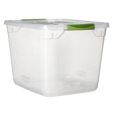 Image result for rubbermaid storage totes  sc 1 st  Pinterest & Image result for rubbermaid storage totes   Plastic Storage ...