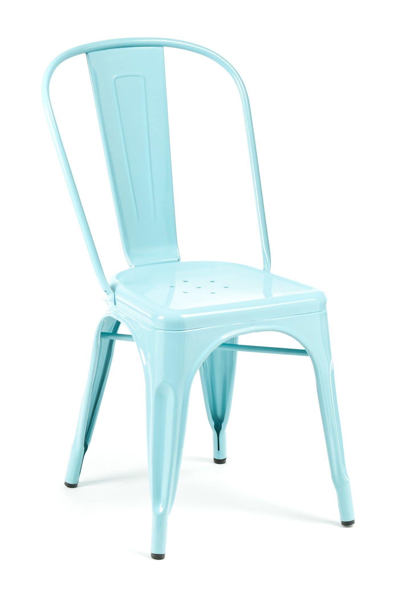 Marais A Side Chair Powder Blue Industry West