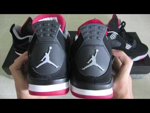 Og Nike Air Jordan 4 Élevé Réel Vs Faux