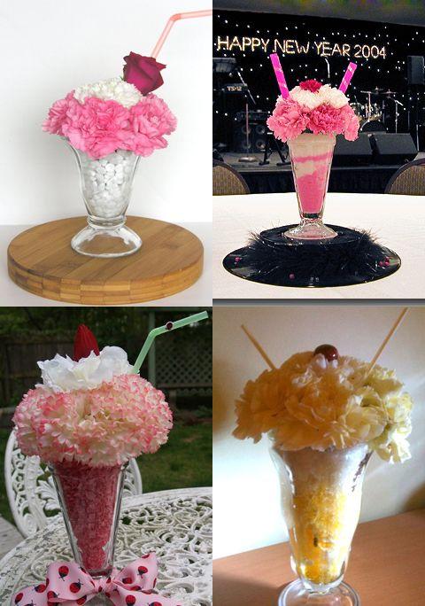 50s Theme Centerpiece Ideas 50s Themed Wedding Wedding Ideas