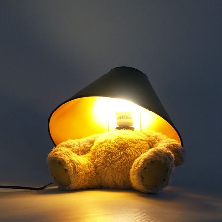 Bamse Lampe U2013 Designet Af Matthew Kinealy   LampeLys.dk Ideas
