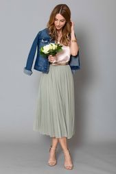 Photo of Tulle skirt – how do I combine a tulle skirt? Bride outfit or wedding guest ….