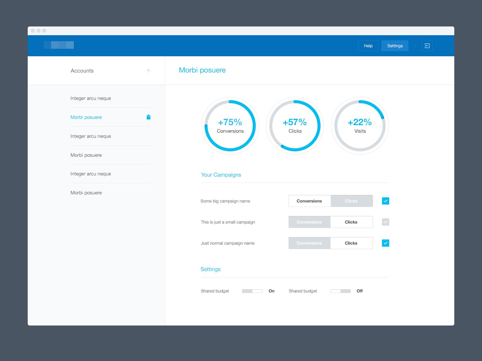 Dribbble Simple Dashboard Png By Frantisek Kusovsky Web Design Dashboard Interface Dashboard Design