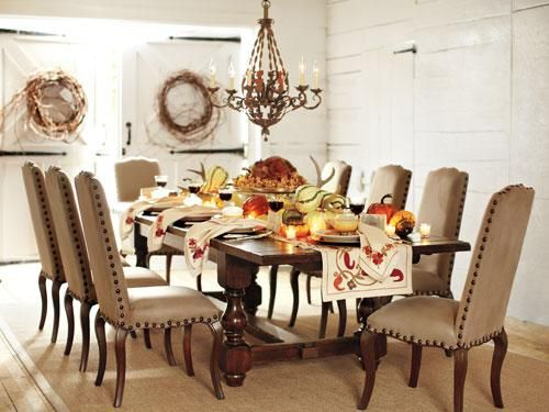 COUNTRY LODGE DINING ROOM | Home | Dining | Pinterest | Pottery barn ...