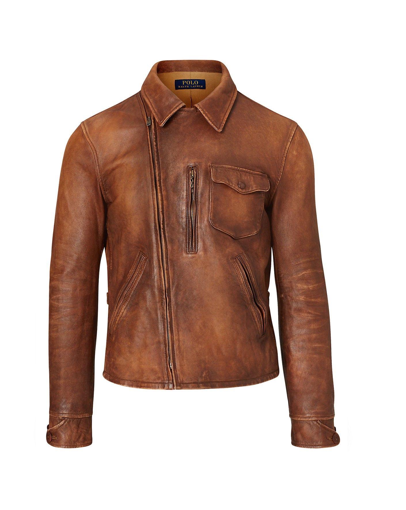 Polo Ralph Lauren Lambskin Jacket Poloralphlauren Cloth All Polo Leather Jacket Leather Jacket Lambskin Jacket [ 1770 x 1410 Pixel ]