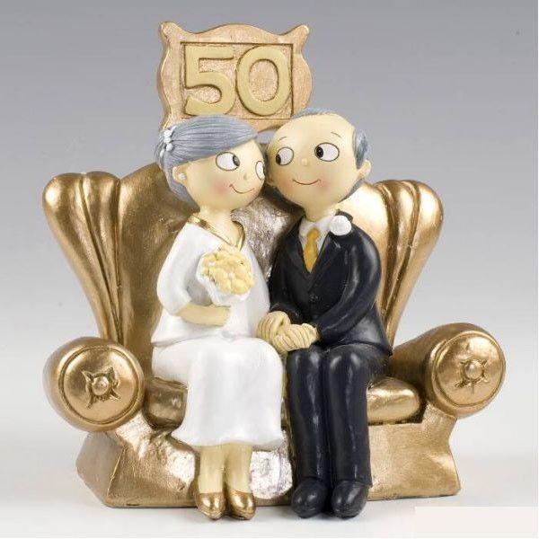 Decoración para aniversario de bodas de oro!