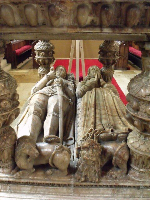 Tomb of 2nd Earl Rutland, St Mary's Bottesford