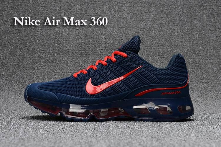 cf774332fbe Nike AIR MAX 360 KPU Men Navy Red 40-47 in 2019