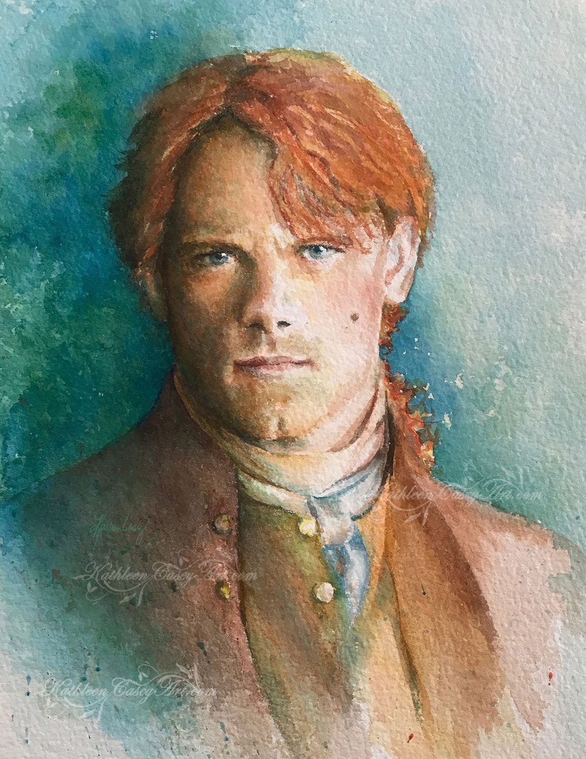Sam Heughan As Jamie Fraser From The Hit Series Outlander This Is