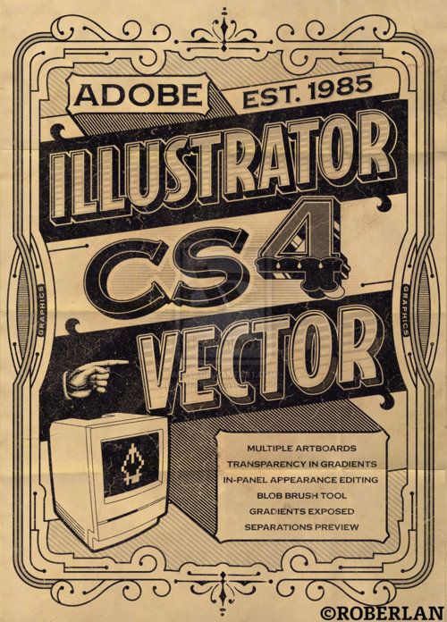 Stevenbrisson Ai IllustratorAdobe Illustrator TutorialsPhotoshop IllustratorVintage TypeTypographic PosterInspirational