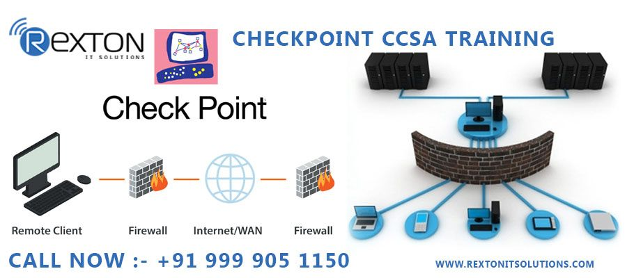 REXTON IT SOLUTIONS is the Best Checkpoint Training