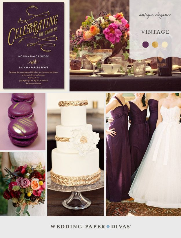 Vintage Wedding Inspiration Board Love And Marriage Pinterest