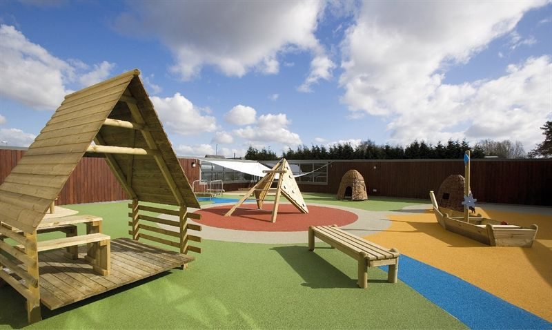 Kids Allowed Roof Top Play Area Surfaces Rooftop Sports