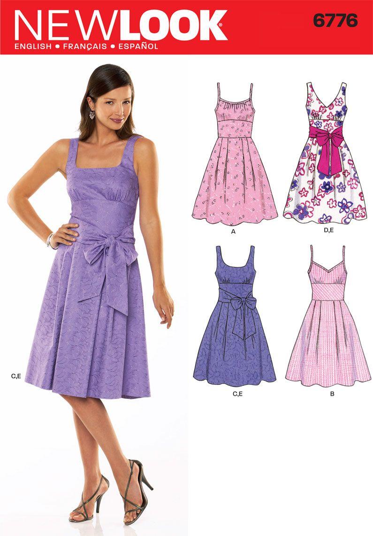 6776 Simplicity New Look Pattern | Bridesmaid Dresses | Pinterest ...