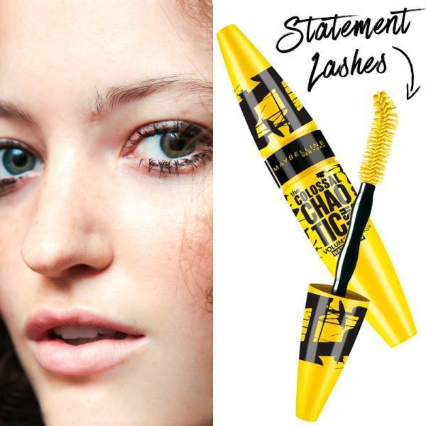 9c72ef8ff1f Maybelline The Colossal Chaotic Lash Mascara - Load up on the mascara and  bat those lashes. Long, thick and clumpy lashes are a look all on their own  so ...
