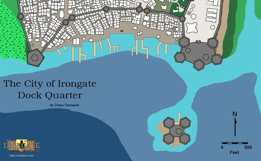 Irongate Dock Quarter