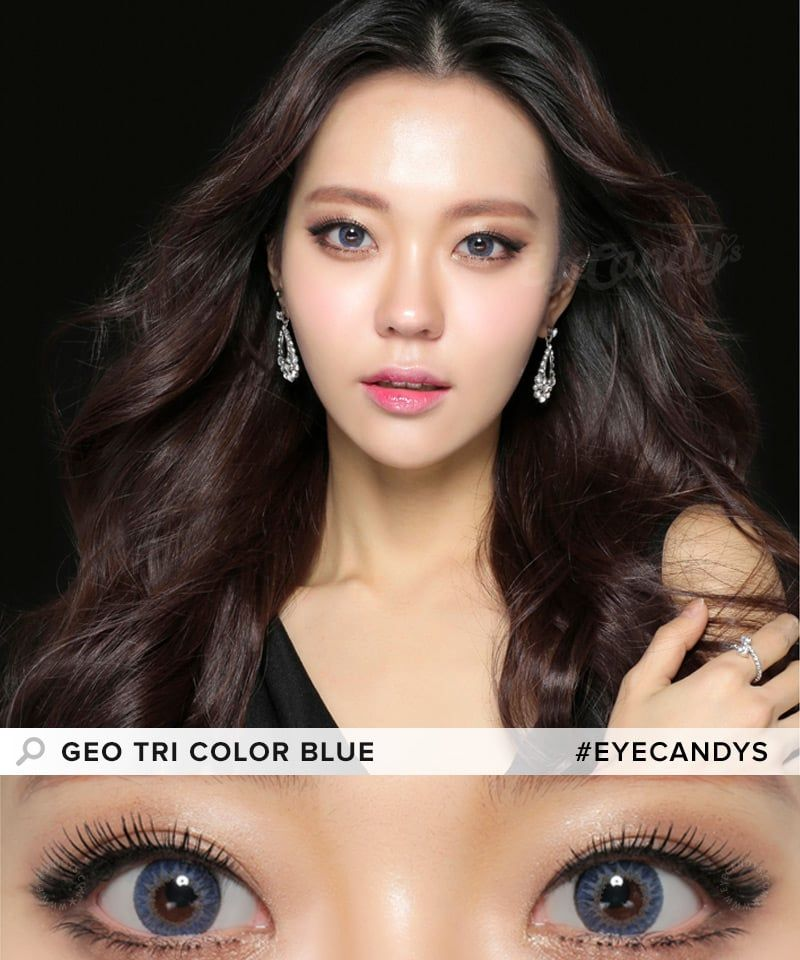 e1b28ef140d GEO Tri Color colored contact lenses - these work beautifully on dark or  black eye colors!