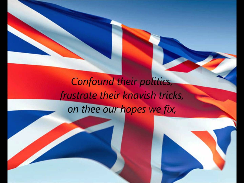British National Anthem God Save The Queen En Hino Nacional