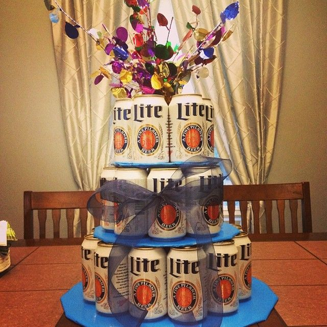 Miller Lite Birthday Cake Cute Gift Ideas Cake